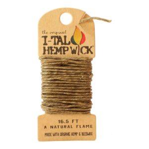 I-TAL Organic Hemp Wick - 16.5 Feet