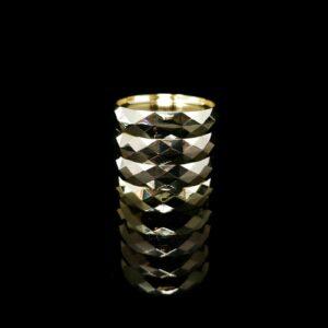 Infyniti Grinder Gold Shine 62mm 4 Part w/Storage