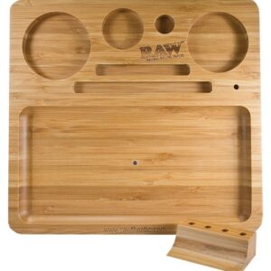RAW NATURAL BAMBOO TRAY
