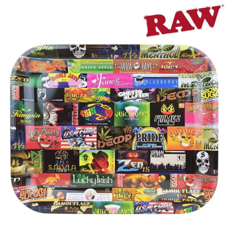 Rolling Paper History 101 Rolling Tray – Large &Bull; 2021