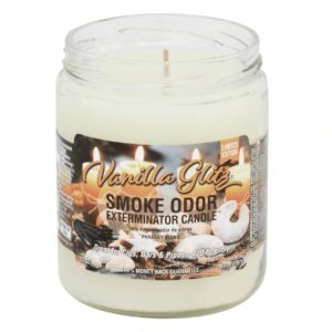 Smoke Odor 13oz Candle - Vanilla Glitz