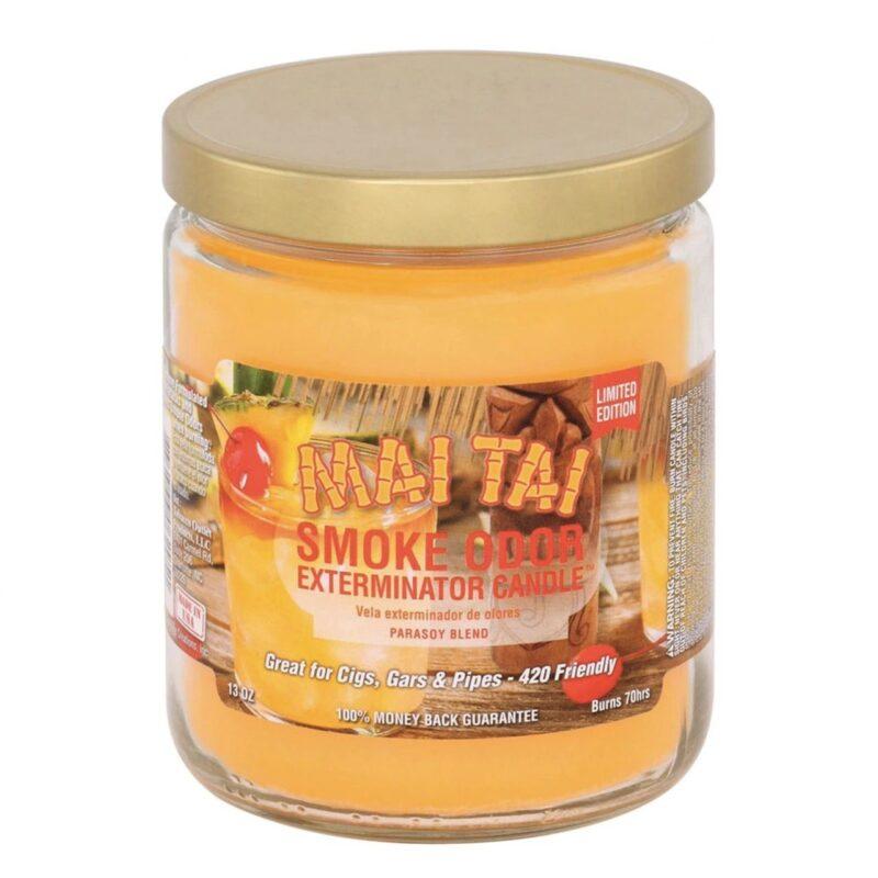Smoke Odor Exterminator Candles - Mai Tai
