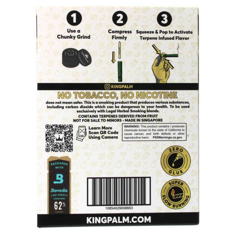 King Palm Fruit Passion Terpene Infused Pre-Rolled Minis