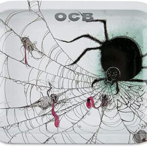 OCB Metal Rolling Tray - Spider - Limited Series - (Small)