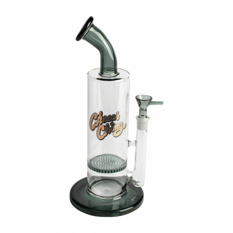 Cheech &Amp; Chong™ Glass 11&Quot; Rap Brown Bubbler (Cc700) &Bull; 2021