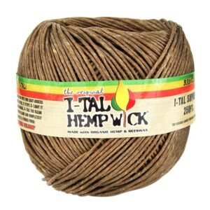 I-Tal Hemp Wick 250ft King Size Ball