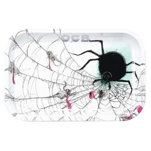 OCB Metal Rolling Tray – Spider – Limited Series – (Medium)