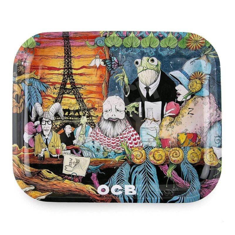 OCB Cafe Culture Rolling Tray 7.5x5.5