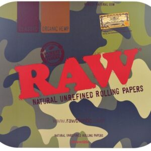 RAW CAMO ROLLING TRAY COVER – LARGE