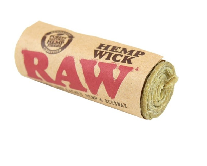 RAW HEMP WICK 20FT