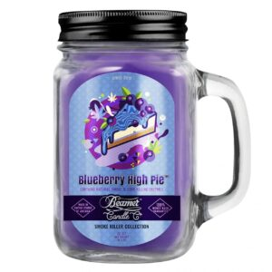 Beamer Candle Co. 12oz Glass Mason Jar - Blueberry High Pie