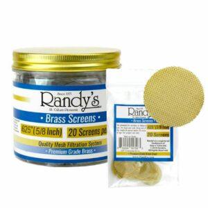 """Randy's Brass Screen Jar - .625"""""""