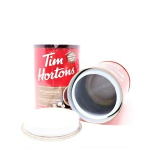 Tim Hortons Hot Chocolate Stash Can