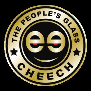 CHEECH GLASS  8 INCH GOLD COLOR DABMAT