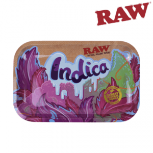 RAW INDICA ROLLING TRAY – SMALL