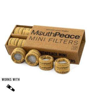 Mouth Peace 10pc Mini Filter Box