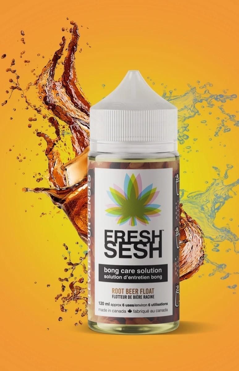 Fresh Sesh Bong Care Solution Root Beer Float