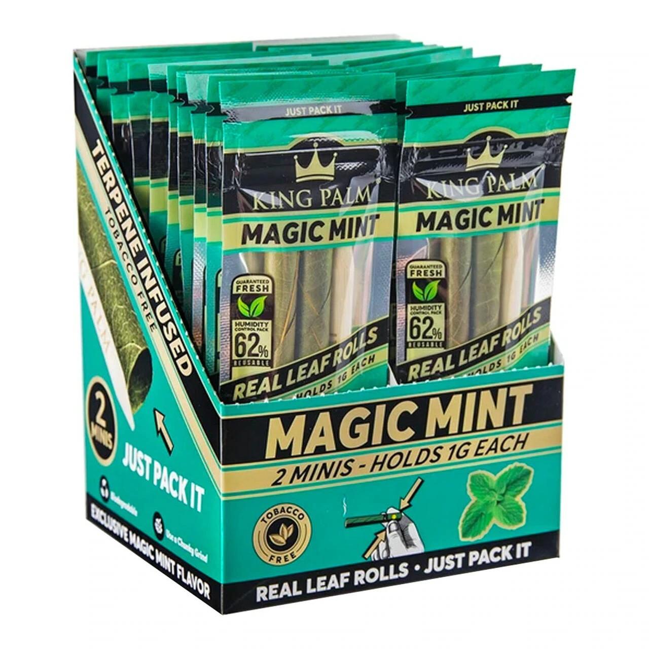 King Palm Mini Magic Mint Pre-Roll Pouch Canada