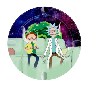 COUCH LOCK (R & M) METAL ASHTRAY