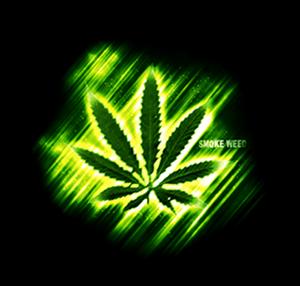 SMOKE WEED FLAG