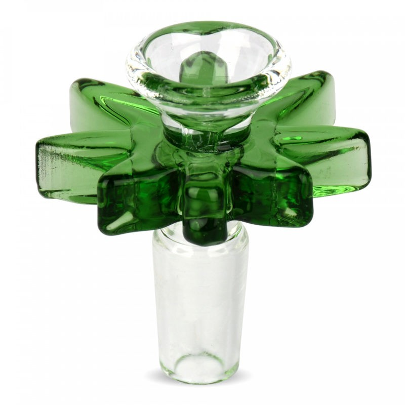 Red Eye Glass® Green 14mm Big Leaf Pull-Out (156G)